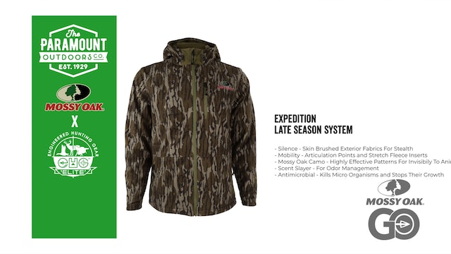 EHG Expedition Late Season System • Paramount