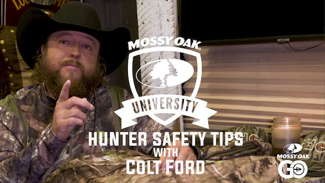 Hunter Safety Tips with Colt Ford • Mossy Oak University