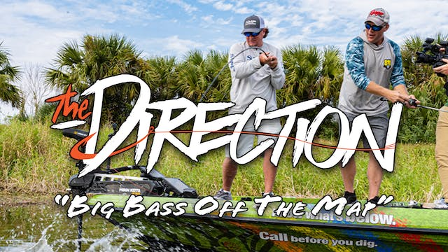 Big Bass Off The Map • The Direction