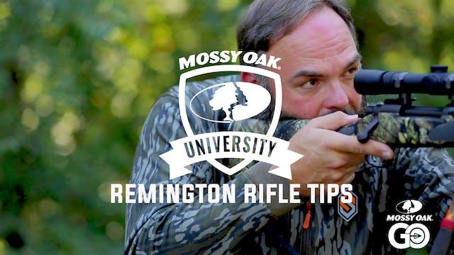 Remington Tips • Mossy Oak University