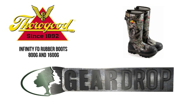 Gear Drop • Thorogood Infinity 800g and 1600g Insulated Rubber Boot