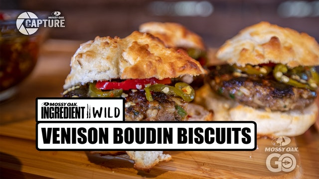 Venison Boudin Biscuits • Ingredient Wild