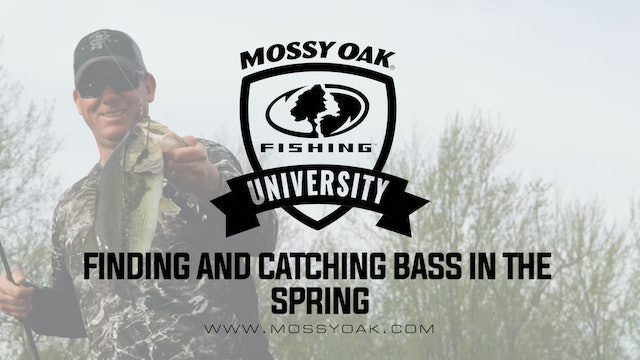 KVD - Finding and Catching Bass in the Spring