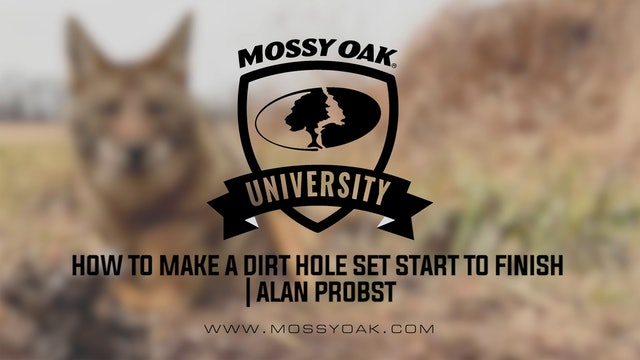 How to Make a Dirt Hole Set Start to Finish with Alan Probst