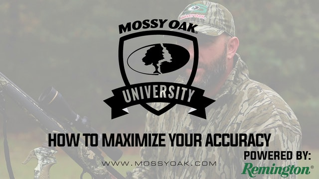 How To Maximize Your Accuracy • Mossy Oak University