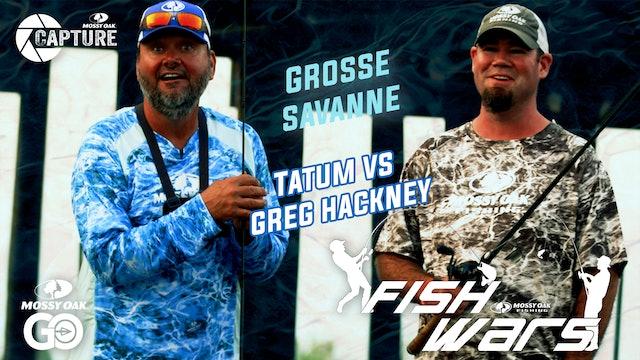 Mossy Oak Fish Wars: Greg Hackney vs Jon Tatum