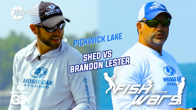 Fish Wars •  Pickwick Lake: Shed vs Brandon Lester