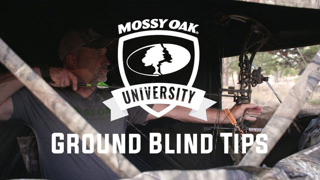 Ground Blind Tips