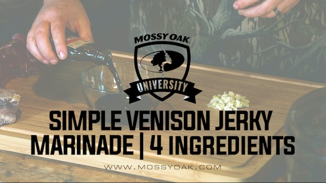 Simple Venison Jerky Marinade | 4 Ingredients