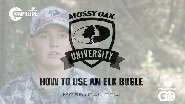 How to Use an Elk Bugle • Mossy Oak U...