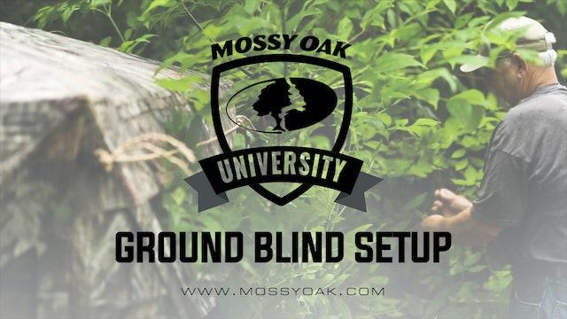 Ground Blind Setup