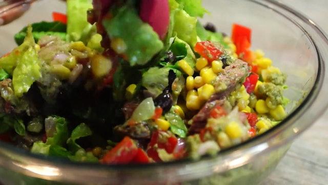 Southwestern Backstrap Salad • KIITK