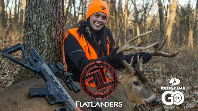 Jessica's First Crossbow Buck • Flatl...