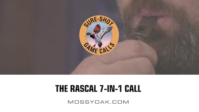 Rascal 7-In-1 Call • Sure Shot Game Calls