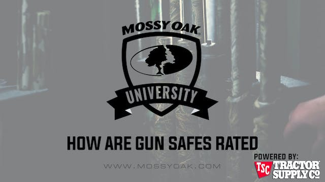 How are Gun Safes Rated • MOU
