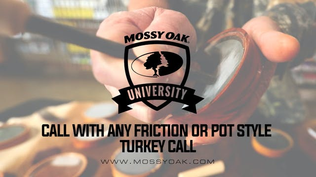 Call with Any Friction or Pot Style T...