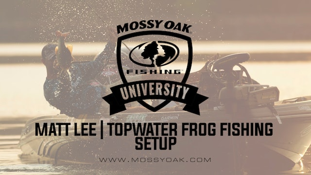 Best Topwater Frog Fishing Setup With Matt Lee