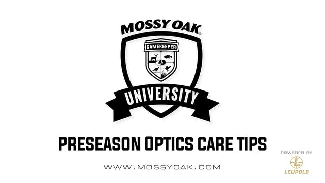 Preseason Optics Care Tips