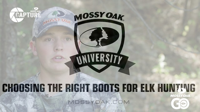 Choosing the Right Boots for Elk Hunting • Mossy Oak Univeristy