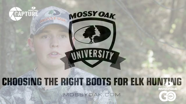 Choosing the Right Boots for Elk Hunt...