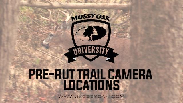 Pre-Rut Trail Camera Locations