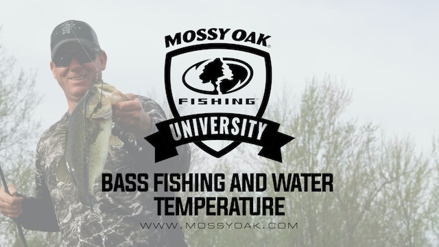KVD - Largemouth Bass Fishing and Water Temp