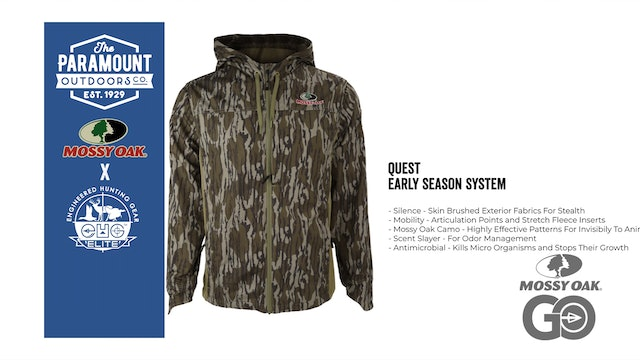 EHG Quest Early Season System • Paramount