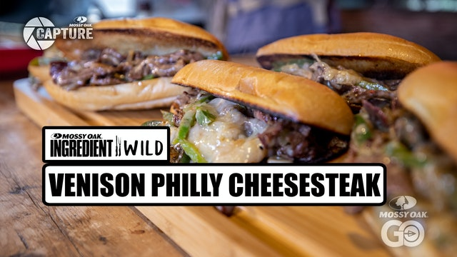 Venison Philly Cheesesteak · Ingredient Wild