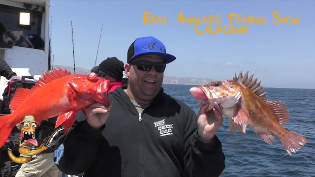 Wide Open Rockfishing • Reel Anglers Fishing Show California