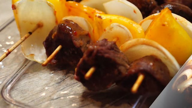 Venison Backstrap Skewers • KIITK