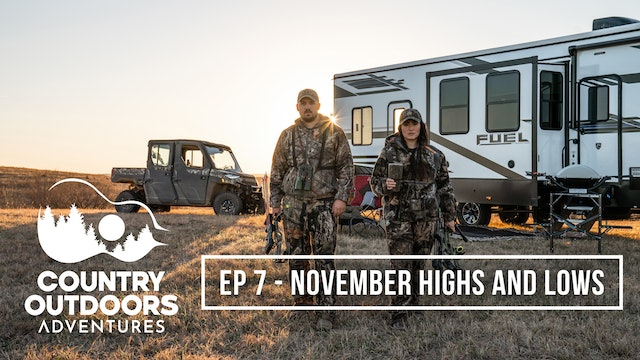November Highs and Lows • Country Outdoors Adventures