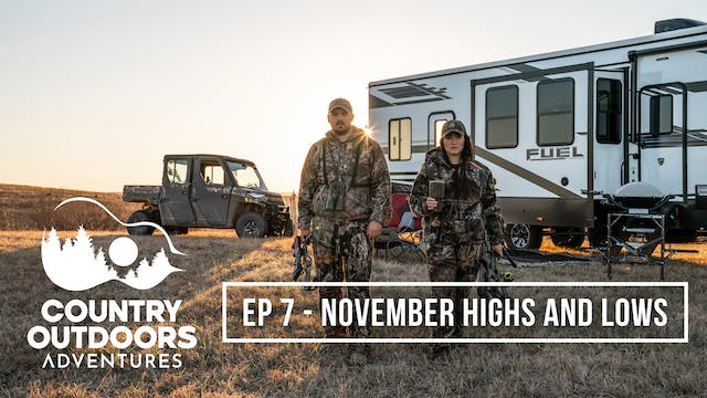 November Highs and Lows • Country Out...