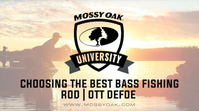 Selecting the Right Bass Fishing Rod • Ott DeFoe