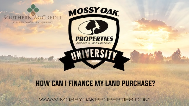 How Can I Finance My Land Purchase?