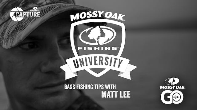 Matt Lee Fishing Tips