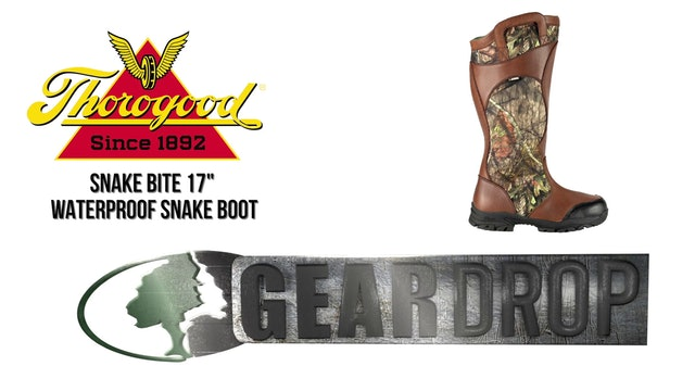 "Thorogood Snake Bite 17"" Boot"