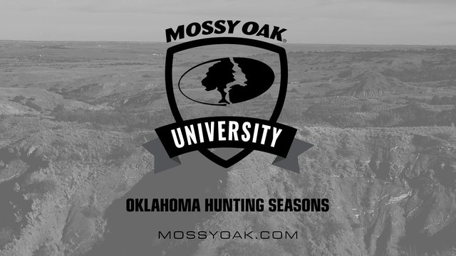 Oklahoma Hunting Tips 08 - Oklahoma Hunting Seasons