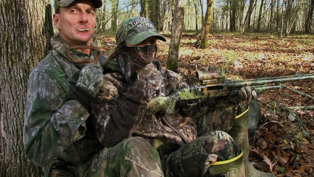 Alabama Longbeards • Bob Walker Hunts with his Daughter, McKenzie, During the Alabama Youth Season