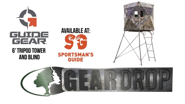 Guide Gear 6' Tripod Tower and Blind