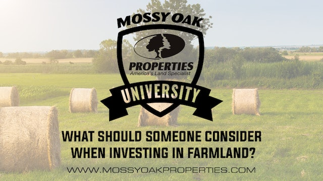 What Should Someone Consider When Investing In Farmland?