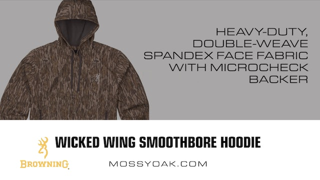 Browning • Wicked Wing Smoothbore Hoodie • Product Reviews