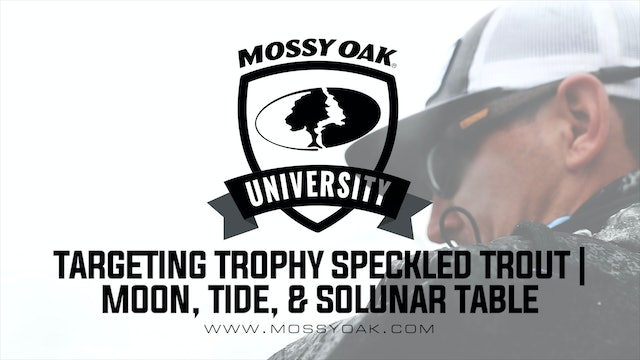 Targeting Trophy Speckled Trout • Moon, Tide, and Solunar Activity