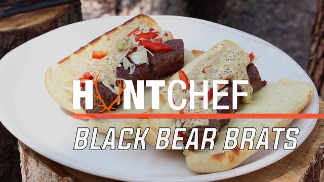 Black Bear Brats • Huntchef