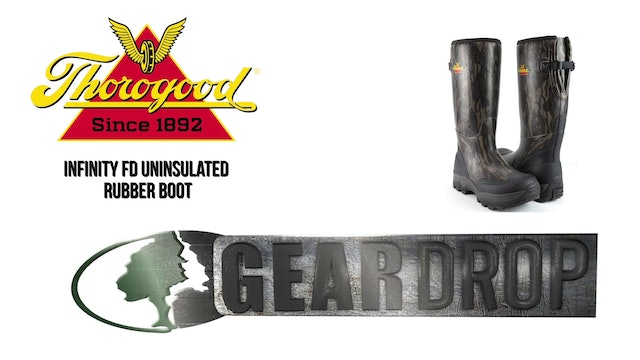 Gear Drop • Thorogood Uninsulated Infinity FD Rubber Boot