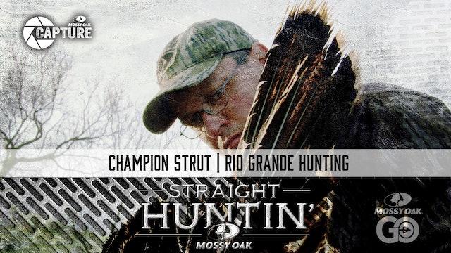 Champion Strut • Rio Grande Hunting • Straight Huntin'
