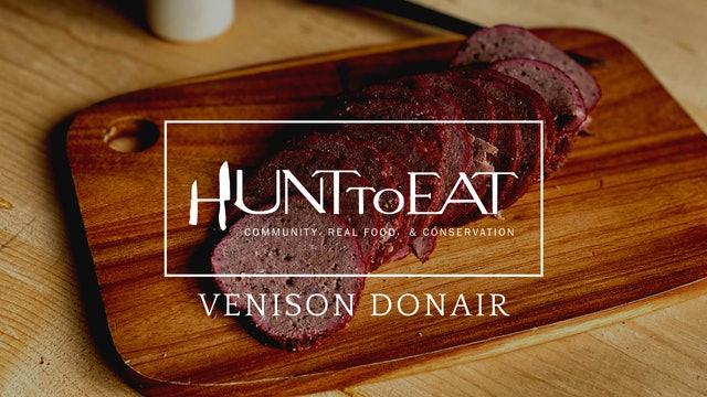 Smoked Venison Donair • Hunt to Eat