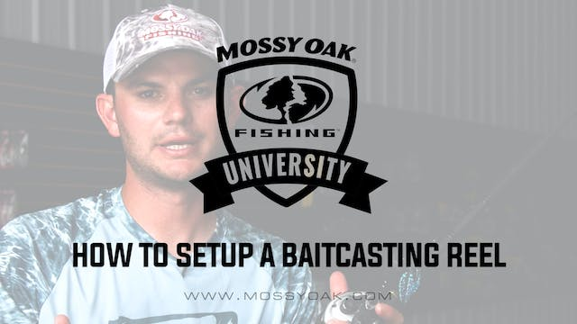 How to Setup a Baitcasting Reel • Mos...