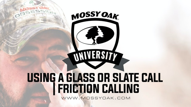 How to use a Glass or Slate Turkey Call • Beginner Friction Calls