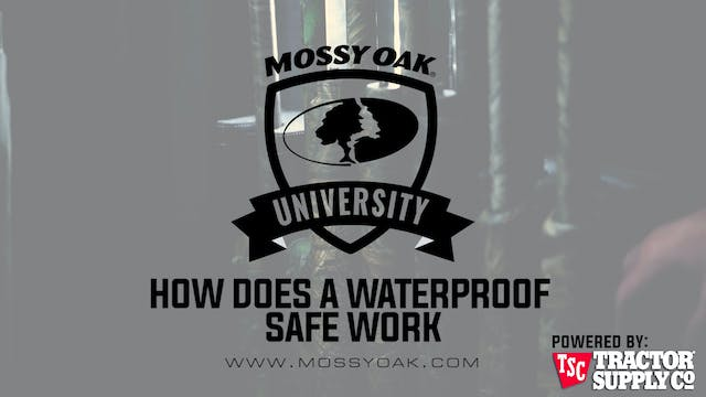 How Does a Waterproof Safe Work • MOU