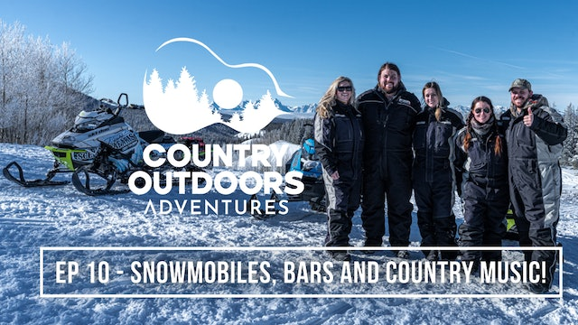 Cold Snow and HOT BEER! with Dillon Carmichael • Country Outdoors Adventures